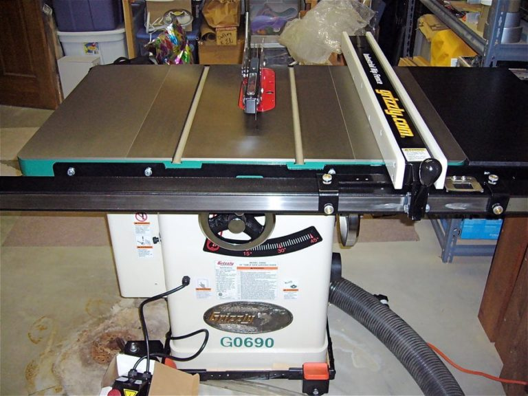 Grizzly G0690 Cabinet Table Saw Review