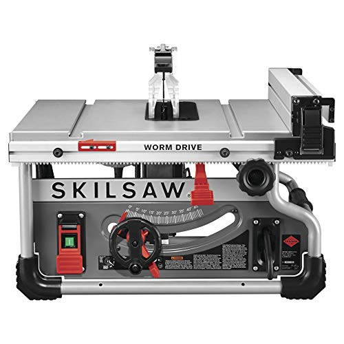 SKILSAW SPT70WT-01 10″ Portable Worm Drive Table Saw with 25″ Rip Capacity Review