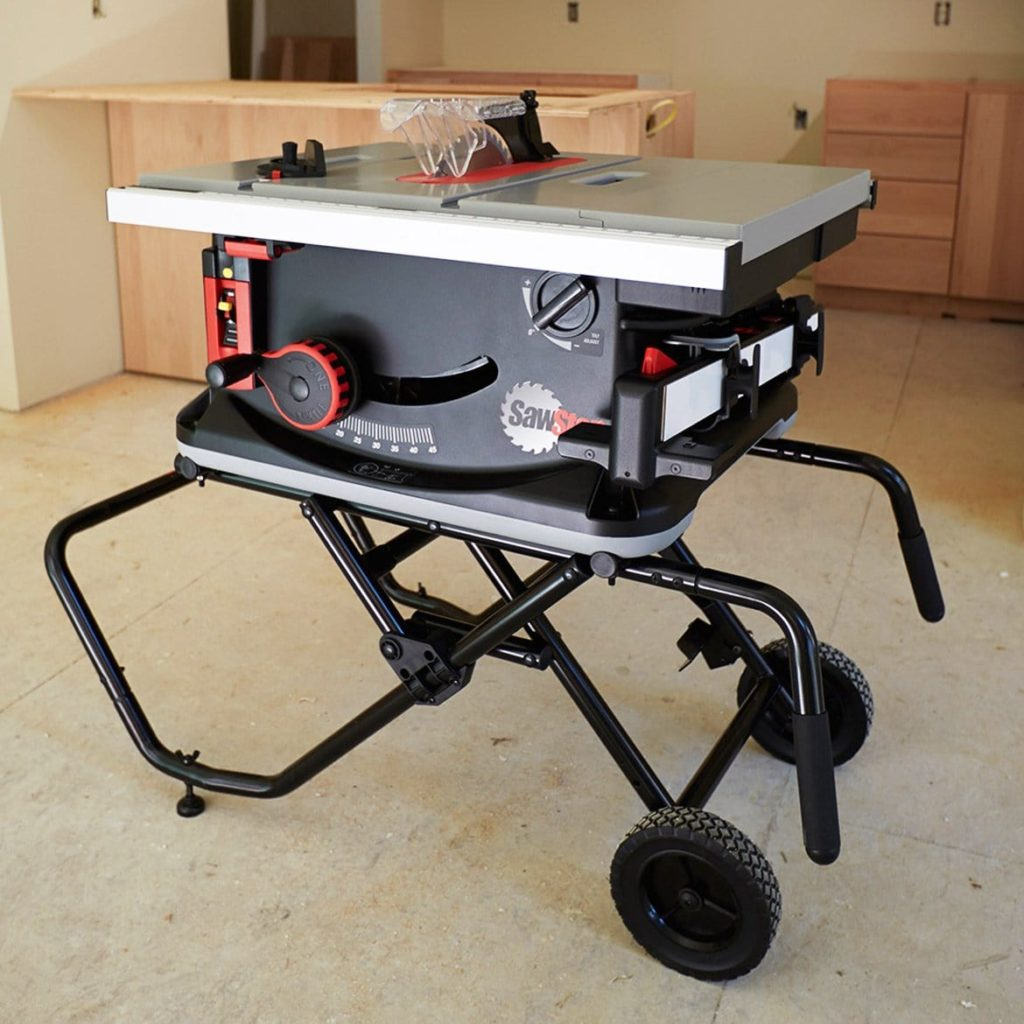 SawStop JSS-MCA Jobsite Saw with Mobile Cart – Table Saw Review
