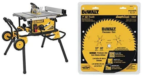 The 10-Inch DEWALT DWE7491RS Jobsite Table Saw with 32-1/2-Inch Rip Capacity and Rolling Stand—Review